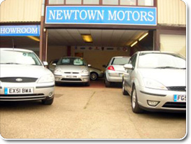 Newtown Motors Garage (Front)
