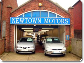 Newtown Motors Garage (Rear)